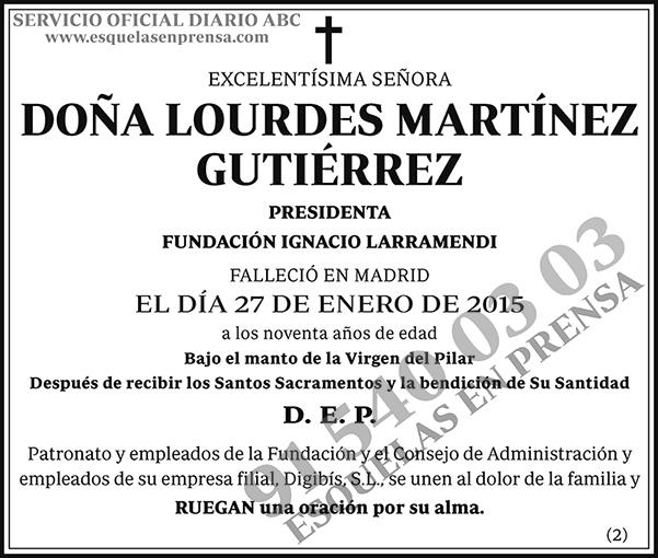 Lourdes Martínez Guitérrez